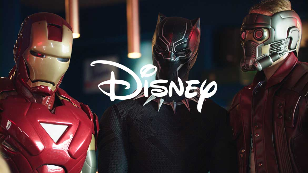 Disney for The Avengers with The jackal